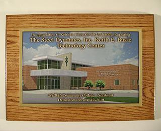 Bronze plaques
